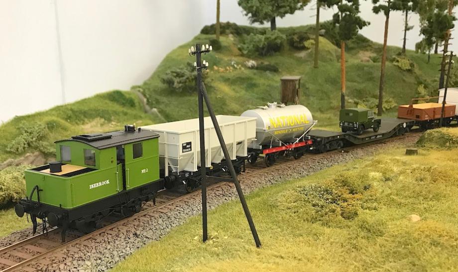 Englische Eisenbahn im Modell